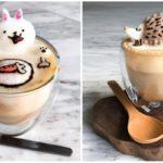 """สาวน้อยวัย 17 เนรมิต """"ลาเต้อาร์ท 3 มิติ"""" งานศิลปะสุดน่ารักบนแก้วกาแฟ ที่สวยจนแทบไม่กล้ากิน!!"""