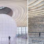 พาไปชม 'ห้องสมุดแห่งยุคอนาคต' ด้วยดีไซน์สุดล้ำ จนได้ชื่อว่าเป็นห้องสมุดที่เจ๋งที่สุดในโลก!