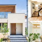 บ้านโมเดิร์นญี่ปุ่น ทรงกล่องสี่เหลี่ยมสุดเท่ พร้อมการตกแต่งที่อ่อนโยนด้วยงานไม้และโทนสีขาว