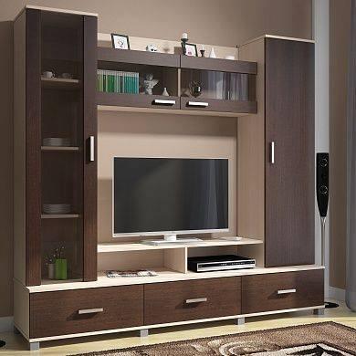 21 - Modern showcase designs for living room ...