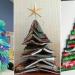 9 ไอเดียสุดเจ๋ง 'ต้นคริสมาสต์' ประดิษฐ์จากสิ่งของต่างๆ ในบ้าน ที่ไม่ใช่ต้นสน