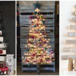 13 ไอเดีย เปลี่ยน 'พาเลทไม้' ให้กลายเป็น 'ต้นคริสมาสต์' ต้อนรับเทศกาลวันหยุดยาว