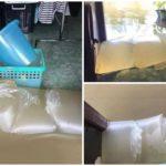 ภาคใต้น้ำกำลังท่วมใหญ่ ชาวบ้านสุราษฎร์ ไอเดียแจ๋ว ทำ 'ถุงกันน้ำ' ป้องกันน้ำท่วมเข้าบ้าน