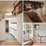 อพาร์ทเม้นท์ขนาดเล็ก ตกแต่งสไตล์โมเดิร์น ครบครันทันสมัย บนพื้นที่เพียง 30 ตร.ม. (มาพพร้อมแบบแปลน)