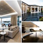 บ้านตากอากาศพร้อมสระว่ายน้ำรอบบ้าน ดีไซน์โปร่งโล่ง เปิดผนังโชว์วิวริมทะเล