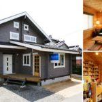 แบบบ้านญี่ปุ่นสองชั้น ออกแบบพร้อมร้านเสริมสวยในตัว ตกแต่งด้วยไม้โทนสีอ่อน หนึ่งในซาลอนที่อบอุ่นที่สุดในโลก