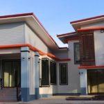 บ้านยกพื้นสองชั้น สไตล์โมเดิร์น 3 ห้องนอน 2 ห้องน้ำ พร้อมพื้นที่เล่นระดับ ดูโดดเด่นเป็นเอกลักษณ์