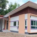 บ้านหลังน้อยสีสันสดใส สไตล์โมเดิร์น ตกแต่งด้วยเฉดสีผสมผสาน โดดเด่นเป็นเอกลักษณ์