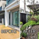 แชร์ไอเดียตกแต่ง 'สวนขนาดเล็ก' สวนสวยทำง่าย สร้างพื้นที่ร่มเย็นรอบบ้าน