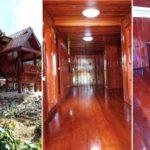บ้านไม้ยกพื้นสูง มีใต้ถุนและศาลานั่งเล่นหน้าบ้าน เอกลักษณ์แบบฉบับเรือนไทยดั้งเดิม