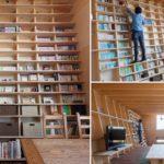 พาไปชมบ้านญี่ปุ่นที่มี 'ชั้นวางหนังสือแบบปีนได้' เอาใจนักอ่าน พร้อมด้วยฟังก์ชันป้องกันแผ่นดินไหว