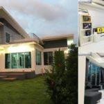 แบบบ้านชั้นครึ่งสไตล์โมเดิร์น โทนสีเรียบขาว-เทา 3 ห้องนอน 3 ห้องน้ำ พื้นที่ใช้สอย 156 ตร. ม.
