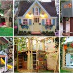 """10 ไอเดีย """"บ้านของเล่น"""" มุมเล็กๆ ในสวนหลังบ้าน เพื่อความสุขของบรรดาเด็กน้อย"""