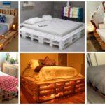 """50 ไอเดียแต่งห้องนอนด้วย """"เตียงไม้พาเลท"""" นอนหลับสบาย ไม่ต้องง้อเตียงจริง"""