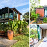 บ้านสไตล์รีสอร์ทขนาดเล็ก เหมาะแก่การพักผ่อนท่ามกลางธรรมชาติ ประกอบติดตั้งง่าย ก่อสร้างรวดเร็ว งบประมาณไม่เกิน 4 แสนบาท