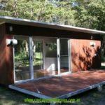 บ้านหลังเล็กเอนกประสงค์ สร้างจากตู้คอนเทนเนอร์ สะดวกสบาย พร้อมทุกการใช้งาน