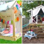 10 ไอเดีย 'บ้านของเล่น' มุมเล็กๆ ในสวนหลังบ้าน เพื่อความสุขของบรรดาเด็กน้อย