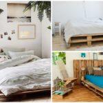 50 ไอเดียแต่งห้องนอนด้วย 'เตียงไม้พาเลท' นอนหลับได้สบาย ไม่ต้องง้อเตียงจริง