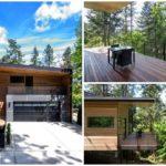 บ้านตากอากาศสไตล์โมเดิร์น โครงสร้างโปร่งโล่งบนพื้นที่ป่าเขา เปิดรับบรรยากาศธรรมชาติ