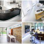 20 ไอเดียจัดแต่งห้องครัวด้วย 'เคาน์เตอร์บาร์ทรงโค้ง' (Curved Kitchen) เปลี่ยนบรรยากาศห้องครัวให้ดูน่าสนุกมากขึ้น