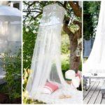 40 ไอเดีย 'มุ้งกันยุงในสวนหลังบ้าน' จัดมุมพักผ่อนสบายๆ ในบรรยากาศธรรมชาติ ไร้การรบกวนจากยุงและแมลง