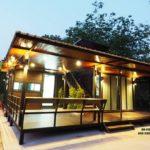 บ้านพักอาศัยสไตล์โมเดิร์น แต่งผนังไม้สีเข้ม เปี่ยมไปด้วยความอบอุ่น พร้อมพื้นที่พักผ่อนแสนสบาย