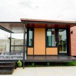 บ้านพักอาศัยดีไซน์แบบรีสอร์ท โครงสร้างโปร่งโล่ง พร้อมมุมนั่งเล่นกลางสวนสวย ในงบประมาณสุดประหยัด