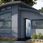 บ้านสำเร็จรูปสไตล์โมเดิร์น ขนาดกะทัดรัด พร้อมระบบภายในอัจฉริยะ เพื่อการใช้ชีวิตที่ยั่งยืน
