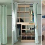 DIY เปลี่ยน 'ชั้นวางของ' ให้กลายเป็น 'ตู้เสื้อผ้าวอล์คอิน' ทำง่ายๆ แบบบ้านๆ แต่ใช้งานได้จริง