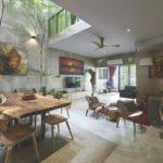 บ้านทาวน์โฮมสองชั้น ตกแต่งสไตล์ลอฟท์ เน้นความเป็นธรรมชาติ พร้อมมุมนั่งจิบกาแฟรับแดดอบอุ่นใจกลางบ้าน