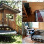 บ้านไม้พร้อมใต้ถุนหลังเล็ก เต็มที่กับวันพักผ่อน ท่ามกลางธรรมชาติแสนสดชื่น