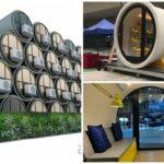 """สถาปนิกผุดไอเดียเจ๋ง เปลี่ยน """"ท่อคอนกรีต"""" ให้กลายเป็น """"บ้านพักอาศัย"""" แก้ปัญหาประชากรแออัดในเมือง"""