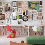 """12 ไอเดียตกแต่ง """"โต๊ะทำงาน"""" เพิ่มพื้นที่จัดเก็บของใช้ สร้างสีสันสดใสให้การทำงานเป็นเรื่องน่าสนุก"""
