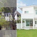"""รีโนเวทบ้านเก่าแก่อายุกว่า 30 ปี ให้กลายเป็น """"บ้านสไตล์มินิมอล"""" เรียบง่ายและทันสมัยในทุกมุมมอง"""