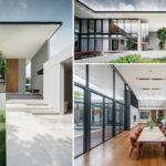 บ้านมินิมอลดีไซน์เรียบง่าย โครงสร้างเปิดโล่งรับวิวรอบทิศ กรุ่นไปด้วยกลิ่นอายสวนไม้ธรรมชาติ