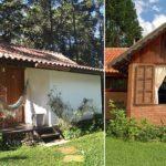 บ้านพักตากอากาศสไตล์คอจเทจ โดดเด่นด้วยผนังอิฐผสมปูน ห้อมล้อมด้วยบรรยากาศร่มรื่น