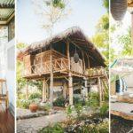 บ้านไม้ตากอากาศ ก่อสร้างด้วยวัสดุจากธรรมชาติเรียบง่ายเเละเป็นมิตรกับสิ่งแวดล้อม