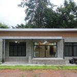 แบบบ้านโมเดิร์นลอฟท์ชั้นเดียว 3 ห้องนอน 2 ห้องน้ำ พื้นที่ใช้ชีวิตเรียบง่าย พร้อมมุมพักผ่อนรับบรรยากาศนอกบ้าน