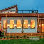 บ้านสไตล์โมเดิร์นรัสติค เน้นใช้วัสดุไม้ให้กลิ่นอายธรรมชาติ ผสานรูปลักษณ์อันทันสมัยและโดดเด่น