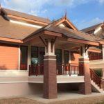 บ้านไทยร่วมสมัยชั้นครึ่ง 3 ห้องนอน 3 ห้องน้ำ พื้นที่ใต้ถุนโล่งกว้างใช้งานอเนกประสงค์