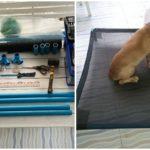 """แบ่งปันไอเดีย DIY """"เตียงนอนสุนัข"""" เหมาะสำหรับสุนัขอายุมาก ป้องกันแผลกดทับตามร่างกาย"""