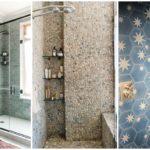 """40 ไอเดีย """"กระเบื้องแต่งมุมอาบน้ำฝักบัว"""" สร้างมิติและความสวยงามให้ห้องน้ำดูน่าใช้งาน"""
