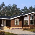 บ้านไม้ชั้นเดียวสไตล์คอจเทจ สวยงามอบอุ่นท่ามกลางธรรมชาติอันร่มรื่น