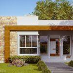 บ้านกะทัดรัดสไตล์โมเดิร์น ตกแต่งด้วยโทนสีอบอุ่น พร้อมพื้นที่ใช้สอย 69 ตารางเมตร