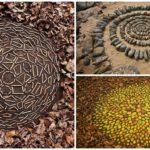 """ศิลปินหนุ่มไอเดียเจ๋ง เปลี่ยนสิ่งของจากธรรมชาติ ให้กลายเป็น """"แมนดาลา"""" ผลงานศิลปะสุดอลังการ"""