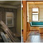 แชร์ไอเดียรีโนเวทบ้าน สไตล์โมเดิร์นอินดัสเทรียล ออกแบบและปรับปรุงบ้านด้วยผนังอิฐและเฟอร์นิเจอร์ไม้สีสด