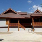 แบบบ้านทรงไทยประยุกต์ยกพื้น โดดเด่นและสวยงามจากการตกแต่งด้วยงานไม้