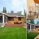 บ้านไม้สไตล์รัสติค สวยดิบด้วยวัสดุจากธรรมชาติ แวดล้อมด้วยแมกไม้เขียวขจี