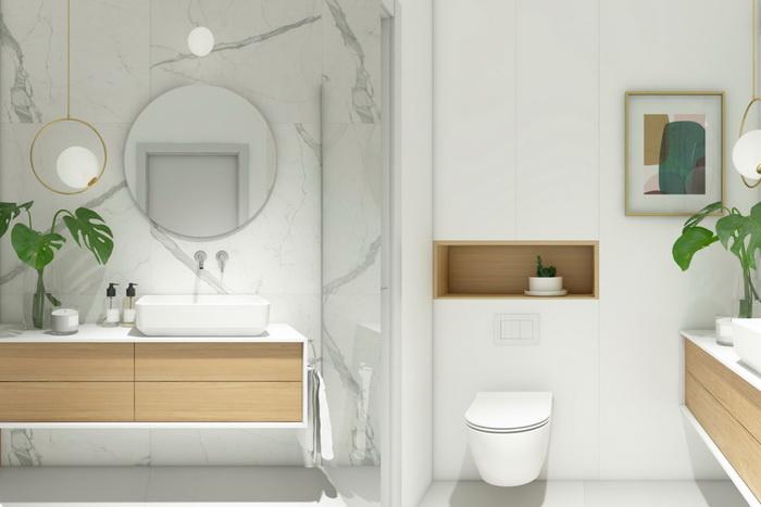 """40 ไอเดีย """"ห้องน้ำสไตล์มินิมอล"""" สุนทรียภาพแห่งการอาบน้ำที่"""