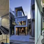 บ้านโมเดิร์นลอฟท์ ออกแบบด้วยรูปทรงสูงบนพื้นที่จำกัด สวยสะดุดตาทั้งหลังด้วยผนังปูนเปลือย